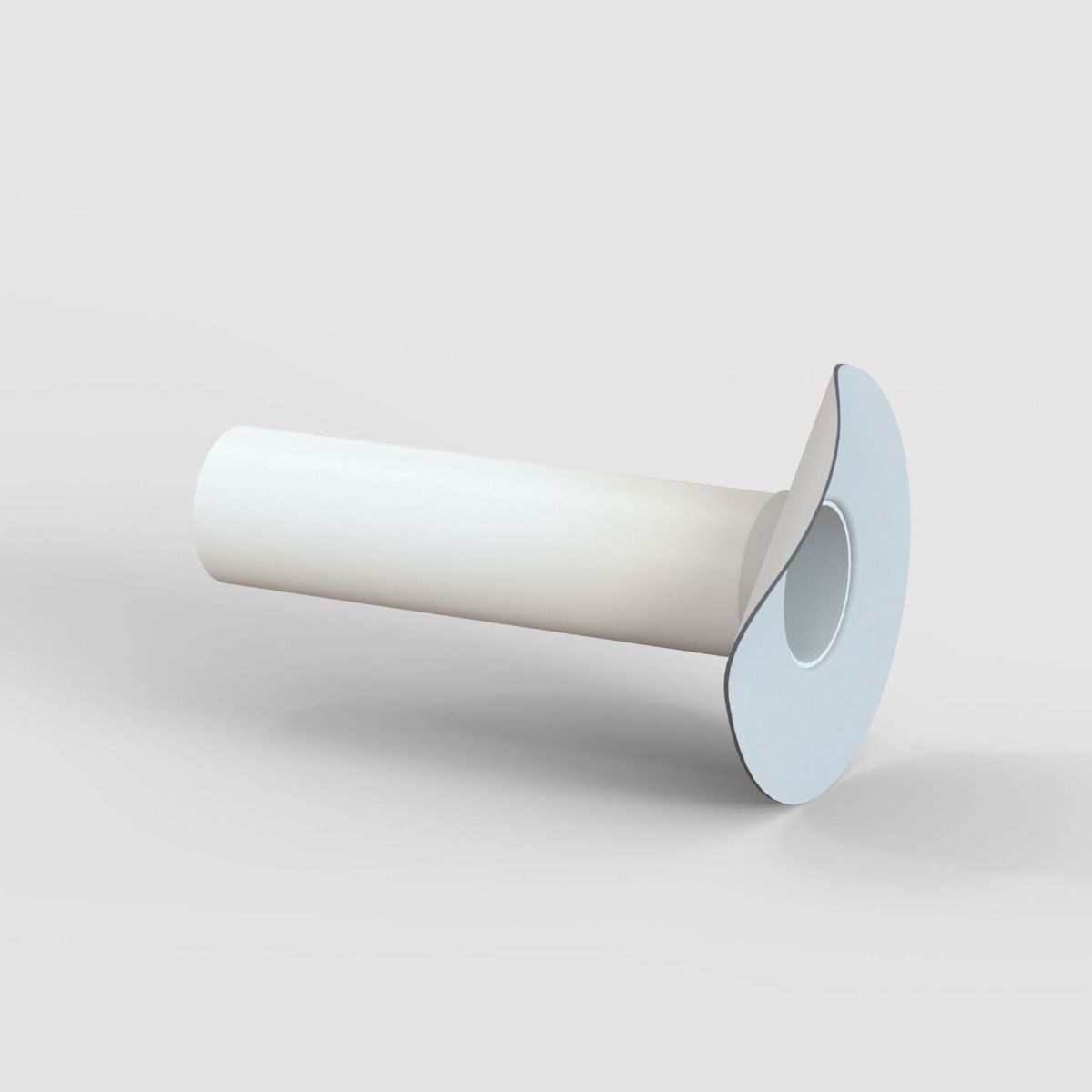 Tectofin R Wasserspeier Typ S grau DN50