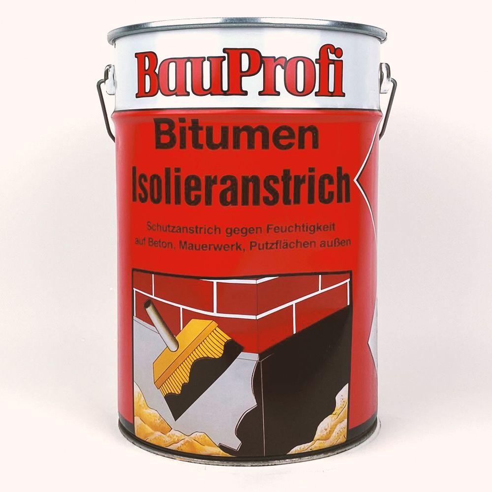 BauProfi Bitumen-Isolieranstrich 10l