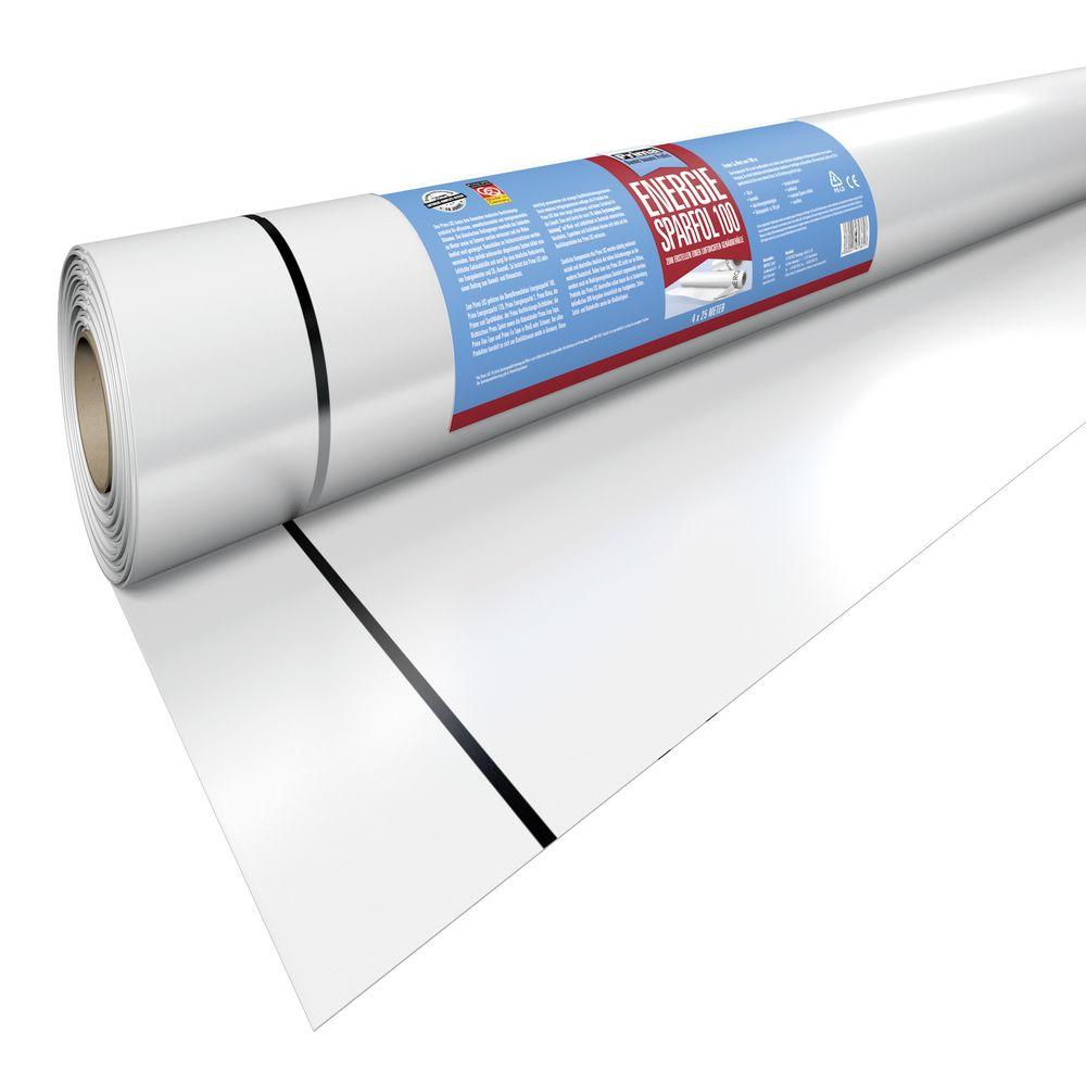 Prima Energiesparfol weiss 4x25m