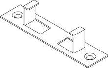 Befestigungsklammer Multi-Deck 25mm