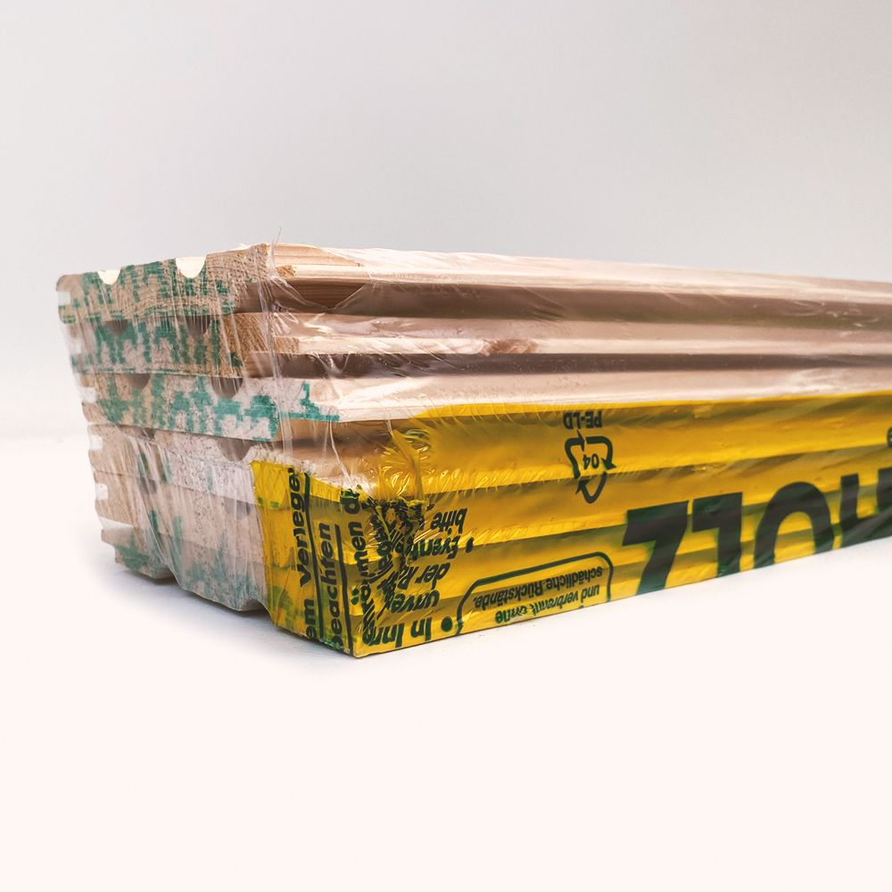 Profilholz Rundprofil A-Sortierung 14x121mm 4,5m