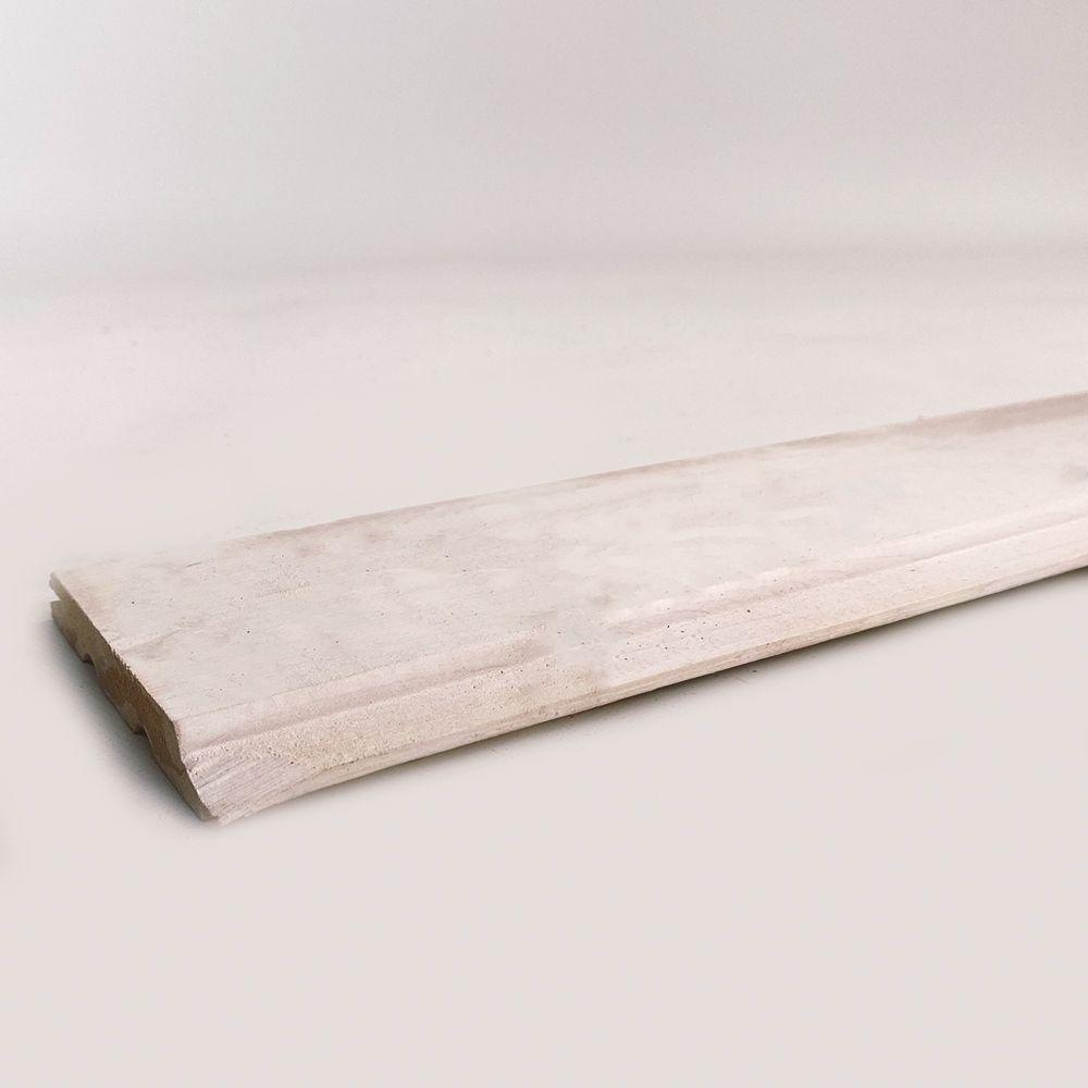 Profilholz Rundprofil weißgrundiert 14x121mm 4,5m