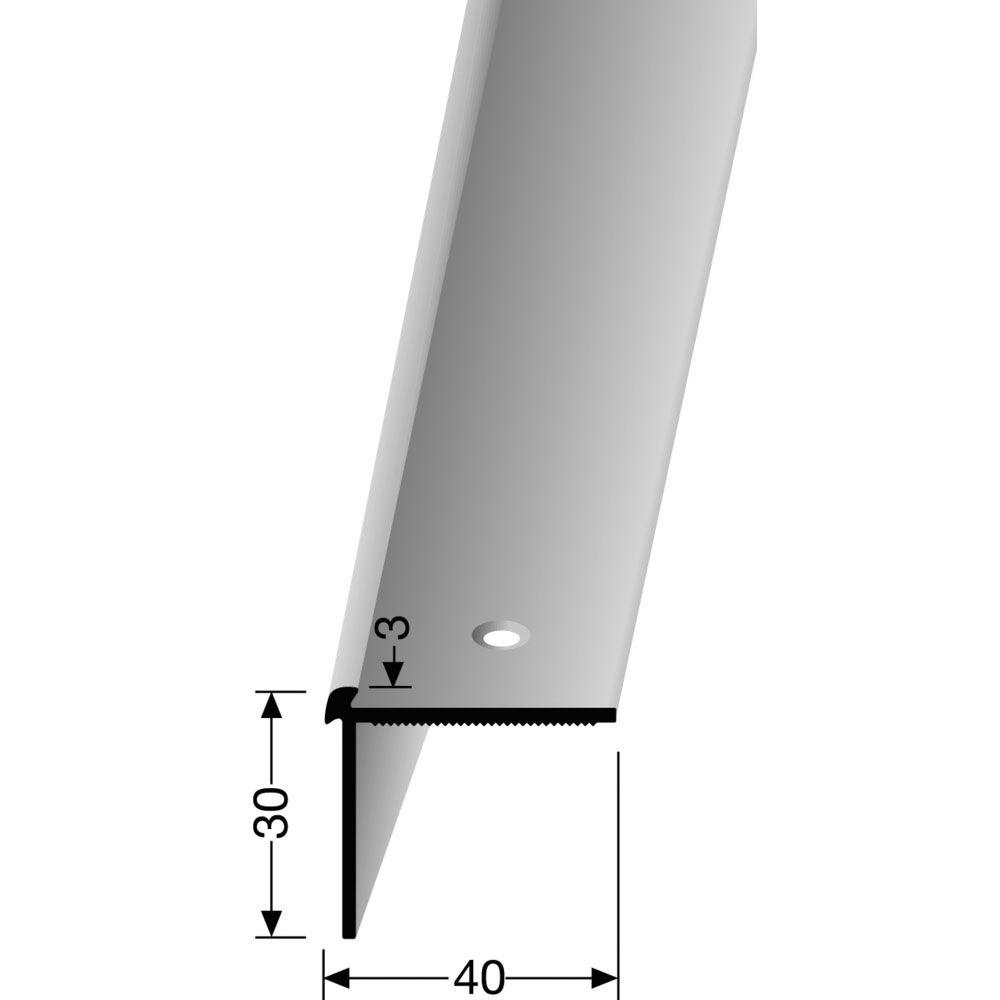 Treppenkantenprofil PF 871 silber 100