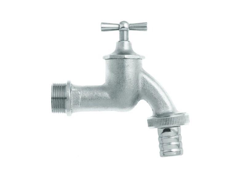 Wasserhahn 1/2 Z 13 mm mit Verschraubung