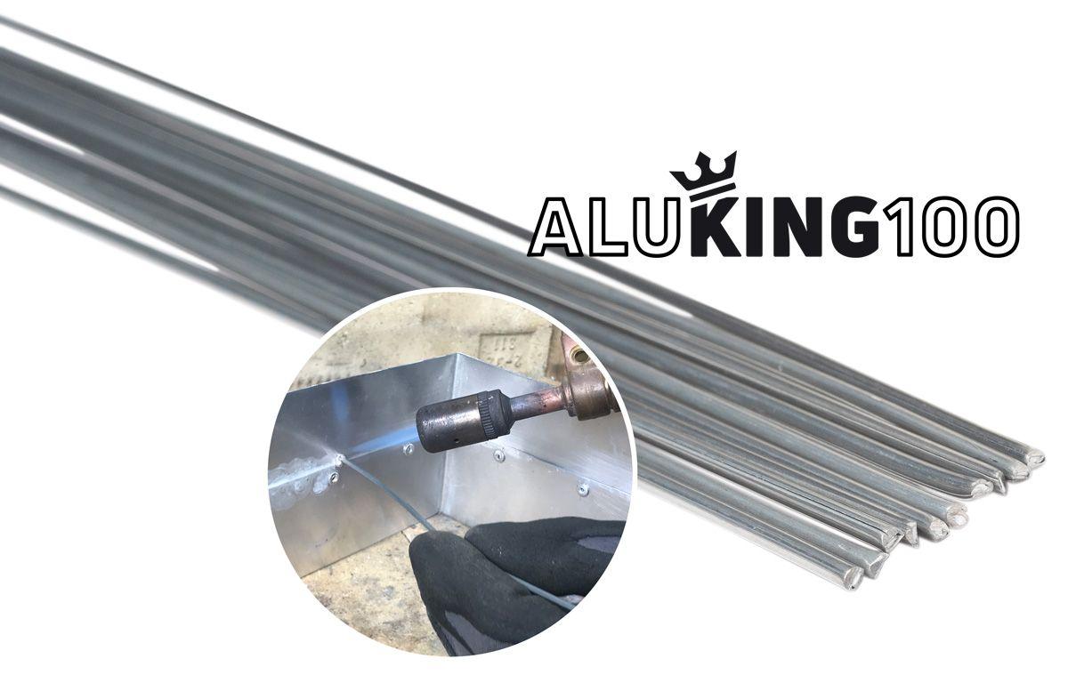 Lötstäbe ALUKING 100 (10 Stk.) zum Weichlöten von Aluminium