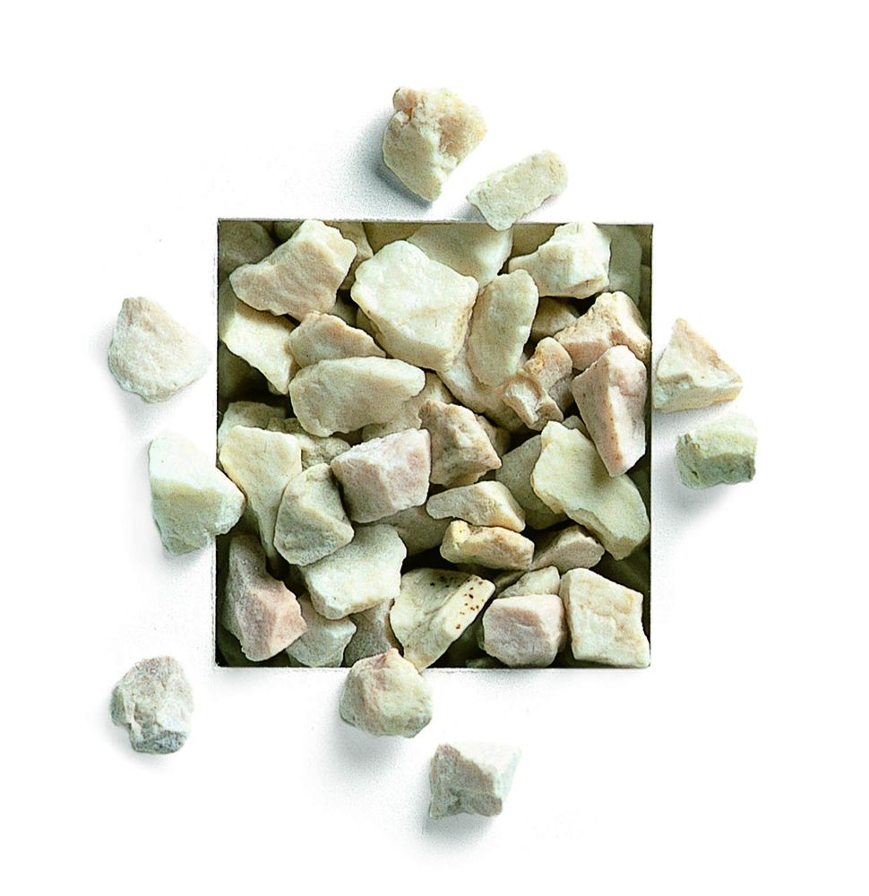 Marmorsplitt weiß 8-16mm 25kg